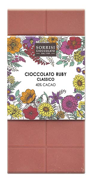 Ruby chocolate, Boella & Sorrisi