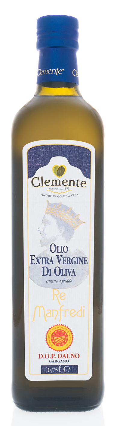 Extra Virgin Olive Oil DOP Dauno (500ml), Clemente