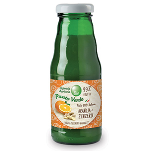 Organic Orange Ginger Juice, Punto Verde