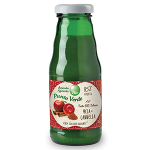 Organic Apple Cinnamon Juice, Punto Verde