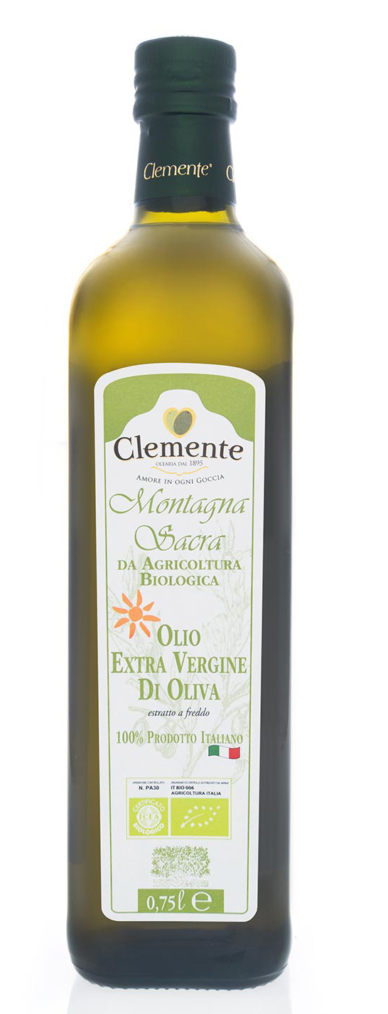 Organic Extra Virgin Olive Oil (250ml), Clemente