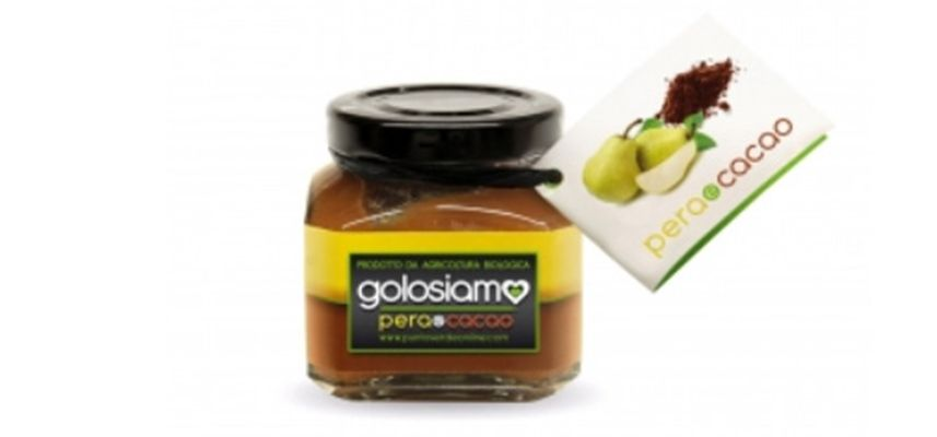 Pear extra jam with Cacao, Punto Verde