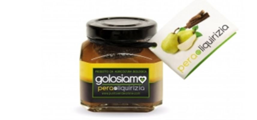 Pear extra jam with Licorice, Punto Verde