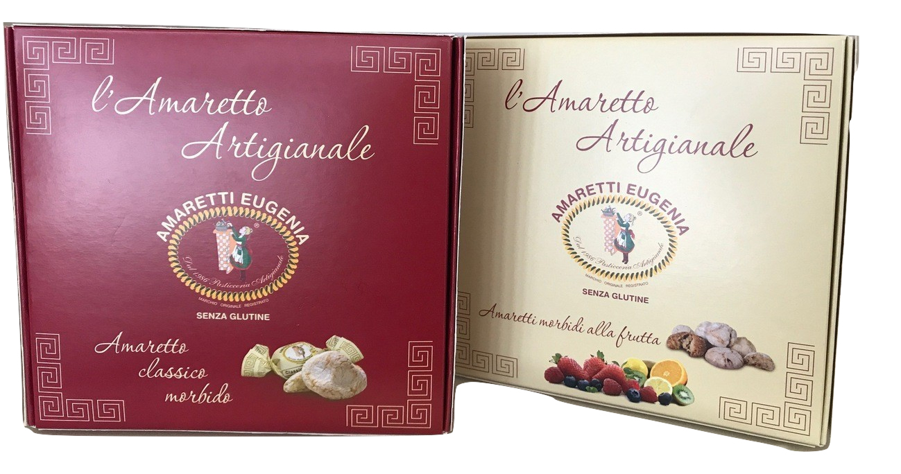Gluten Free Fruit Amaretti Gift box,Eugenia