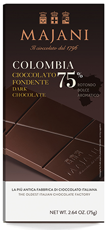 Colombia 75% Chocolate Bar, Majani