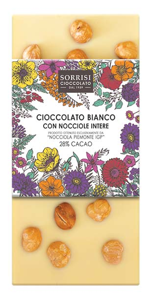 Hazelnut White Chocolate, Boella & Sorrisi