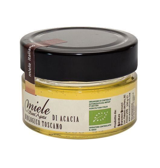 Raw Acacia Honey (70gr), Sant'Agata