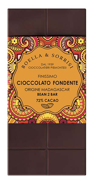 Madagascar 72% Dark Chocolate, Boella & Sorrisi
