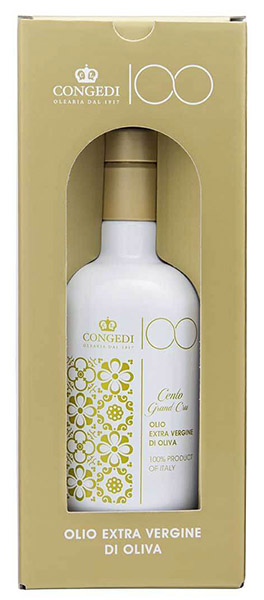 "Extra Virgin Olive Oil ""100 Grand Cru"", Oleari Congedi"