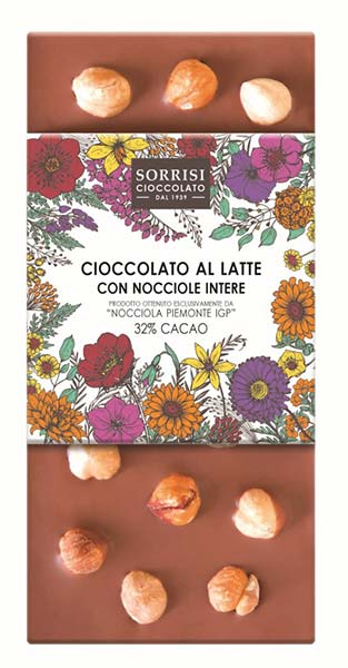 Hazelnut Milk Chocolate 32%, Boella & Sorrisi