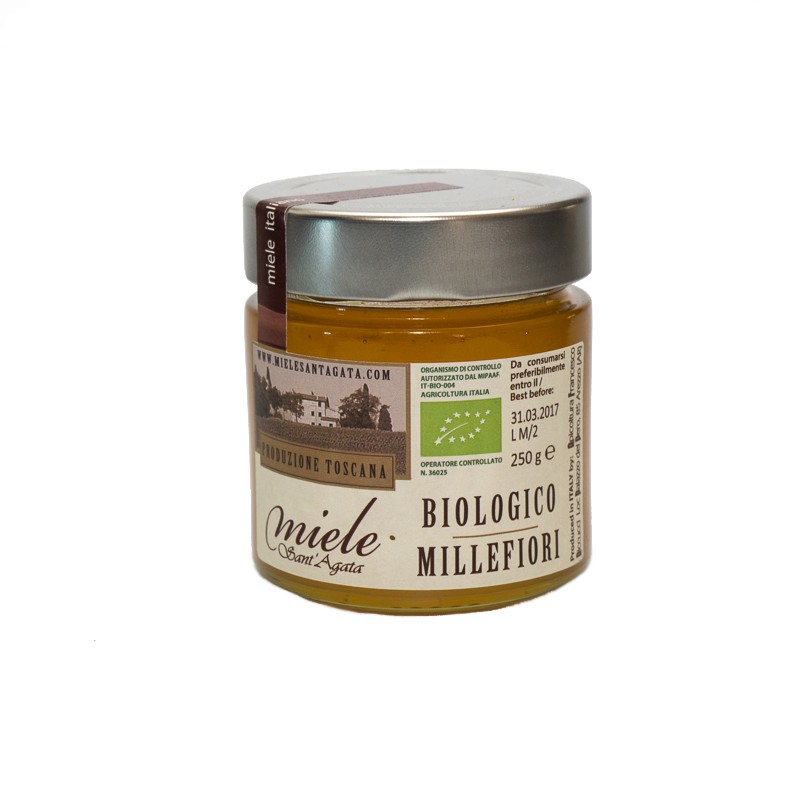 Raw Wildflower Honey (400gr), Sant' Agata